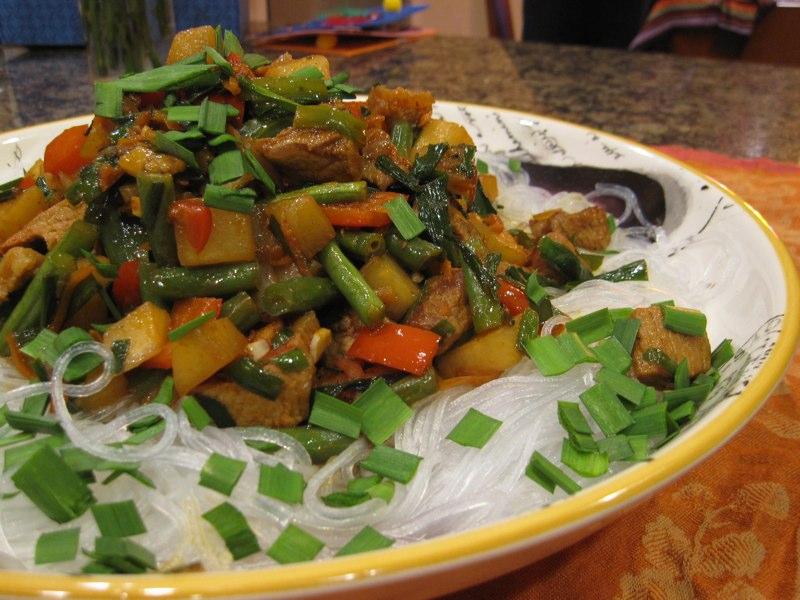 фунчоза салат дунганский рецепт